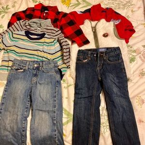 Lot of boys 3T winter clothes- Carters, Cat & Jack